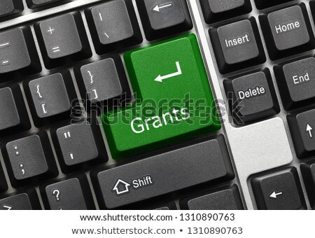 laptop keyboard   contribute green key stock photo © michaklootwijk