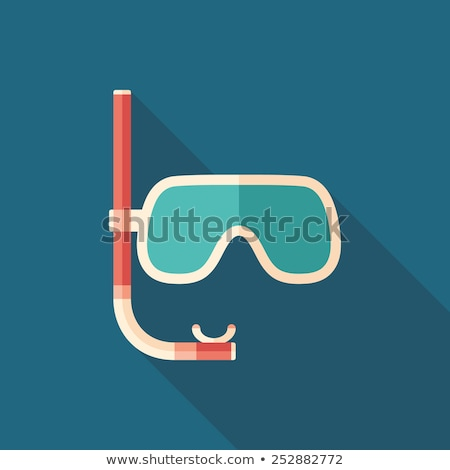 sun with scuba mask Stock photo © adrenalina