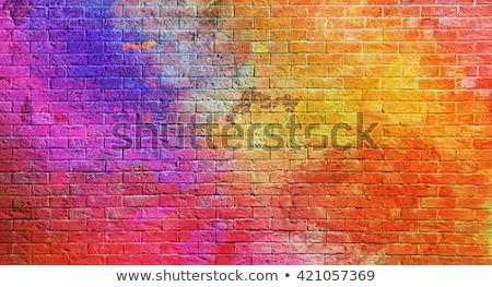 colored wall stock photo © simazoran