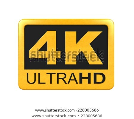 3d golden 4k ultra text Stock photo © ribah