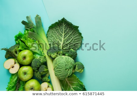 Káposzta zöld valósághű mély étterem eszik Stock fotó © ConceptCafe