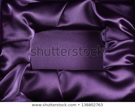 Púrpura caja de regalo joyas amarillo cinta blanco Foto stock © Melnyk