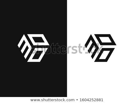 Digitális vektor fekete ikonok ikon szett gyűjtemény Stock fotó © frimufilms