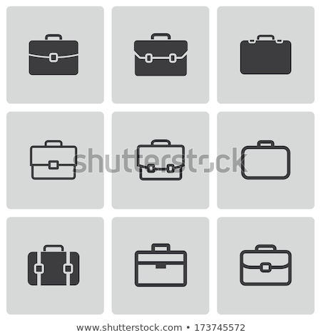 briefcase icon stock photo © angelp
