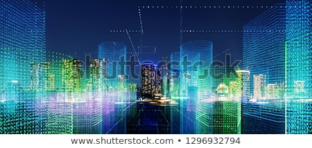 5G telecommunication technology digital background design Stock photo © SArts