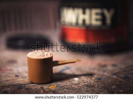 whey protein stock photo © zkruger