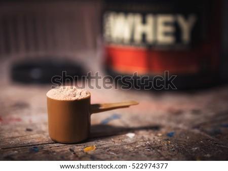 チョコレート · タンパク質 · ドリンク · 金属 - ストックフォト © zkruger