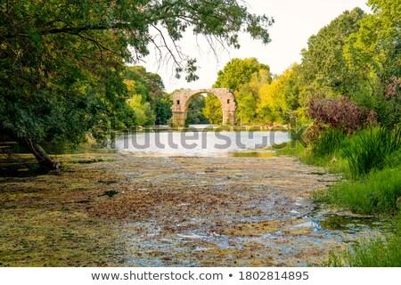 romano · ponte · edifício · natureza · campo · urbano - foto stock © cynoclub