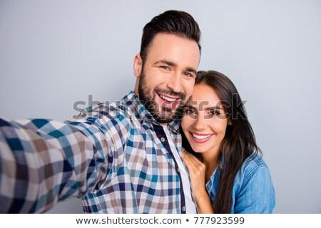 couples self portrait stock photo © vichie81
