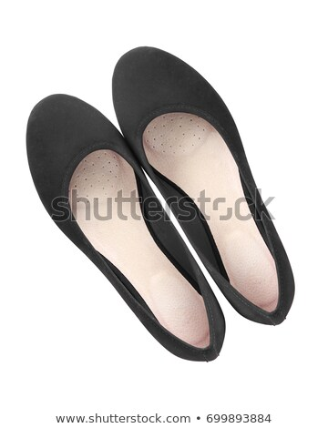 Elegant black female shoes  Stock photo © Elisanth