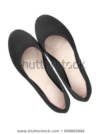 elegant black female shoes stock photo © elisanth