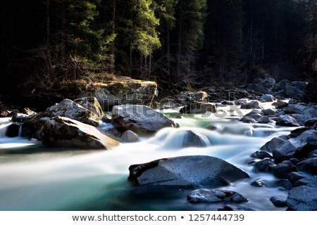 Sarca stream, val di Genova, Italy Stock photo © Antonio-S