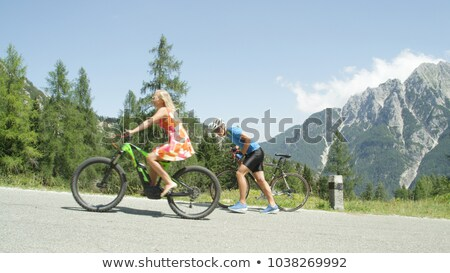 easy biking stock photo © marekusz