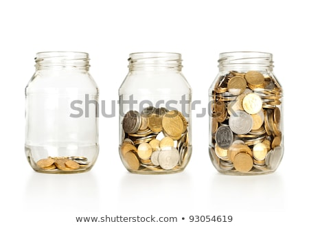 glass jar with coins stock photo © asturianu