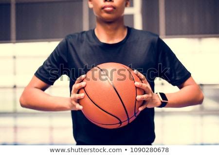 Stockfoto: Zwarte · knap · jonge · afro-amerikaanse