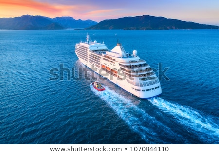 Yacht, boat cruising mediterranean sea Stock photo © lunamarina