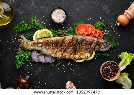 鮭 · 選択フォーカス · フォーカス · フロント · エッジ - ストックフォト © smuki