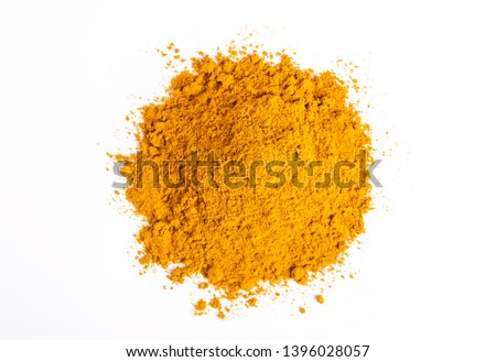 orange turmeric powder Stock photo © zkruger