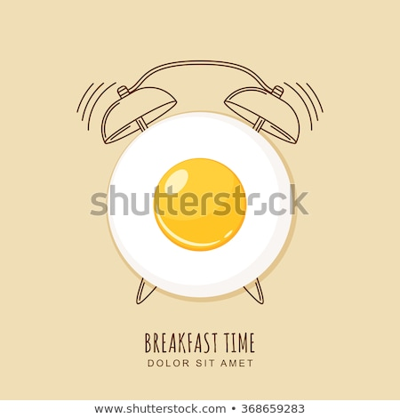 breakfast time stock photo © badmanproduction