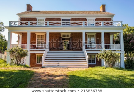 County Court House Appomattox Virginia Stock photo © backyardproductions