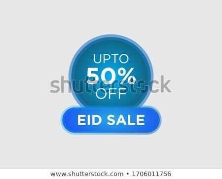 eid discount red vector icon design stock photo © rizwanali3d