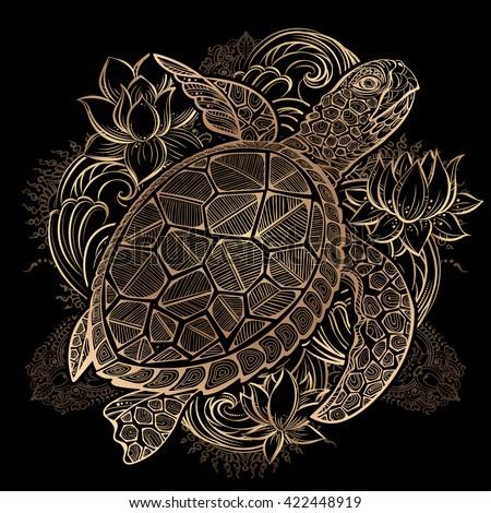 Wedding of sea turtle Stock photo © adrenalina
