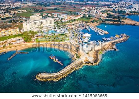 igreja · Chipre · mar · verão · azul · arquitetura - foto stock © kirill_m