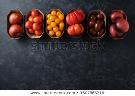 トマト 異なる 包装 実例 背景 芸術 ストックフォト © bluering
