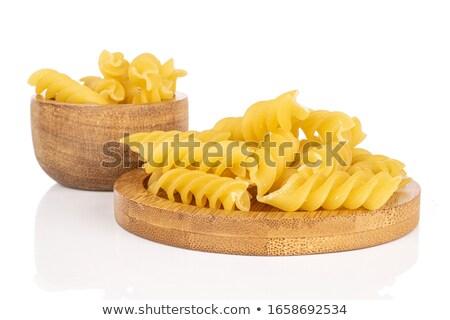 Spun bamboo bowl Сток-фото © Digifoodstock
