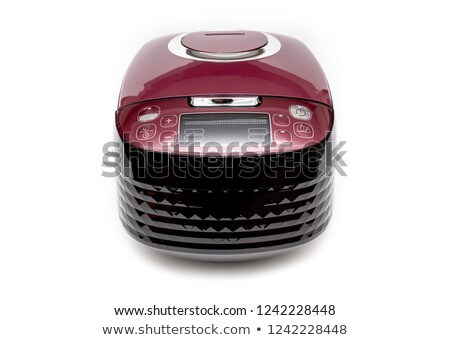 Rice cooker on white background Stock photo © bluering