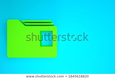 Lavoro apertura contabilità manager 3D giornale Foto d'archivio © tashatuvango