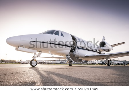 Luxury business jets Stock photo © tracer
