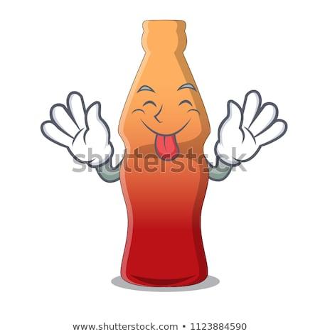 コーラ ボトル 白 キャンディ ストックフォト © Digifoodstock