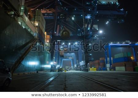 Portu noc Zdjęcia stock © IS2