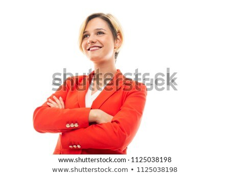 Low angle portrait of a businesswoman Stock photo © IS2