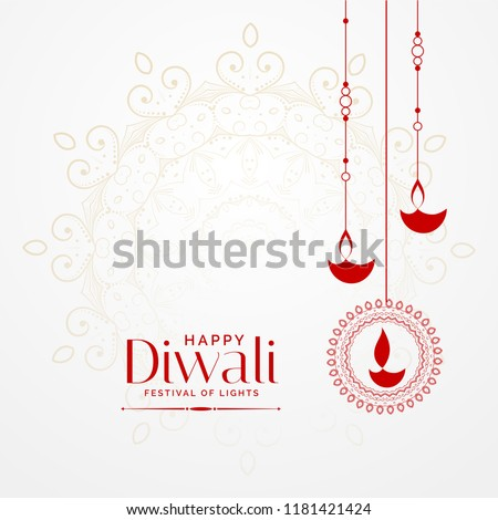 lovely diya background for diwali festival Stock photo © SArts