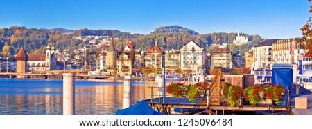 unesco · ville · principale · carré · panoramique · vue - photo stock © xbrchx