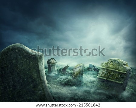 Stock photo: Haunted house in the deep forest
