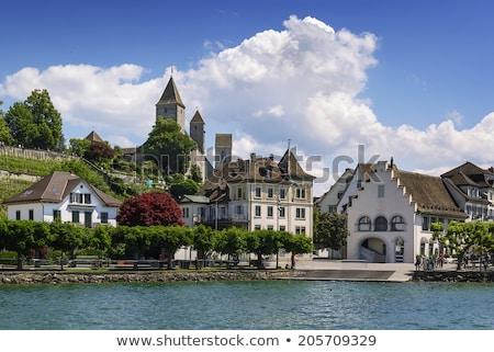 старом доме Швейцария мнение здании Европа города Сток-фото © boggy