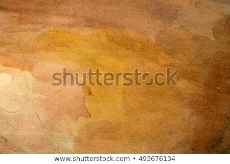Abstract orange and brown watercolor background Stock photo © ConceptCafe