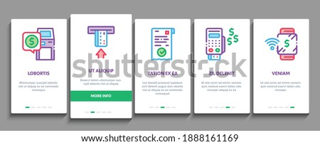 Coding System Vector Onboarding Stock photo © pikepicture