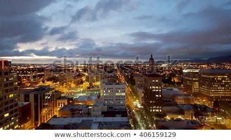 Paisaje urbano edificio fondo rascacielos dibujo Foto stock © gomixer