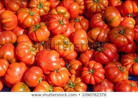 помидоров продажи рынке продовольствие фрукты саду Сток-фото © elxeneize