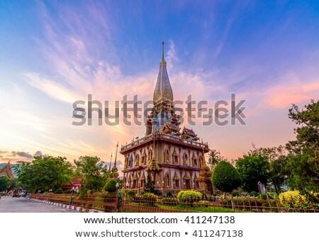 Templo phuket Tailândia verão dia céu Foto stock © bloodua