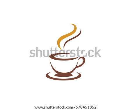 Coffee cup Logo Template Stock photo © Ggs