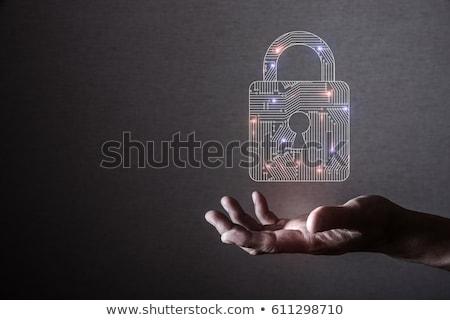 kırık · güvenlik · kod · soyut · görüntü · parola - stok fotoğraf © stuartmiles