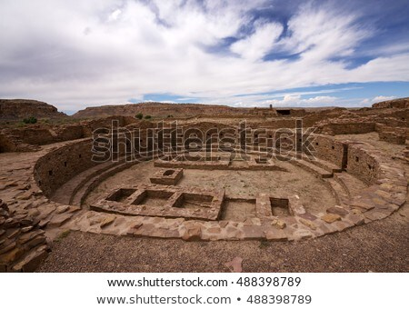 Chaco Culture ruins Stock photo © benkrut