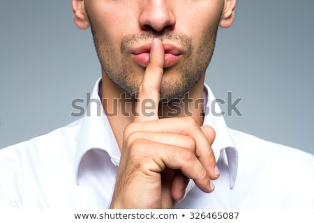 A secretive man Stock photo © photography33