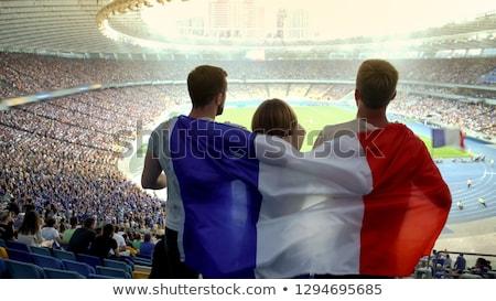 French football fan Stock photo © photography33