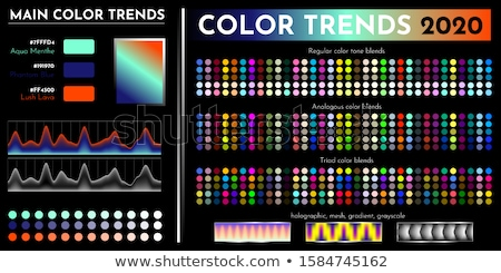 Spring of CMYK colors Stock photo © timbrk